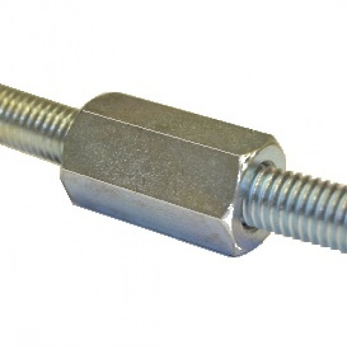 Threaded Bar Couplers : M threaded rod connector