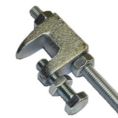 M flange clamp