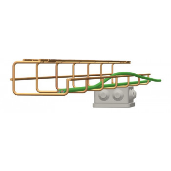 G-Shaped False Ceiling Cable Basket Tray x 2 Meter