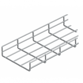 300mm Cable Basket Tray A2 Stainless x 3 Meter