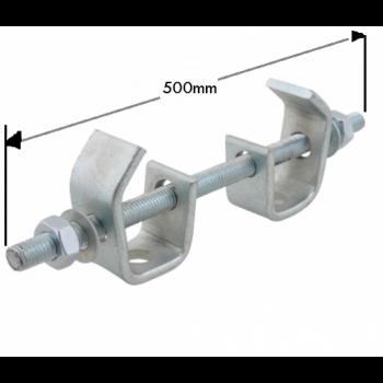 500mm Heavy Duty Beam Clamp Assembly