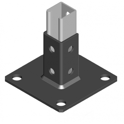 Unistrut Equivalent Base And Floor Plates