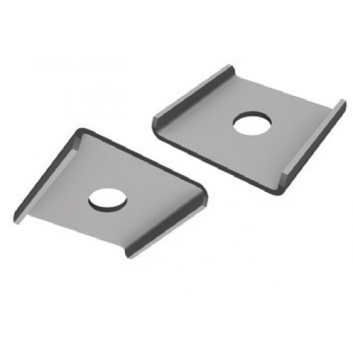 Wedge Washer Plate : M top hat clip square plate washer