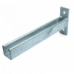 600mm Slotted Cantilever Arms - A4 Stainless