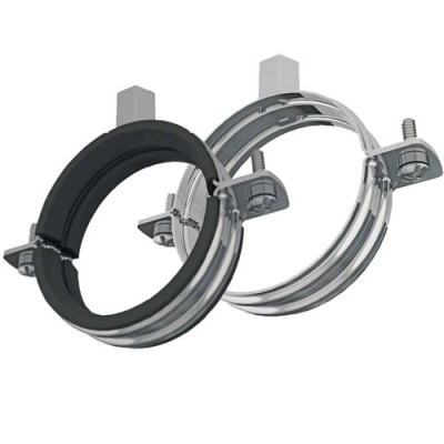 Pipe Clamps Rubber/Unlined