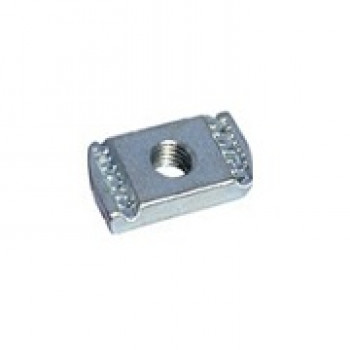 M10 Plain Channel Nuts Hot Dipped Galvanised - Box of 100