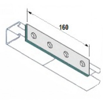 4 Hole Flat Plate -  A4 Stainless