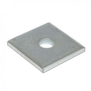 M16 Square Plate Washer Hot Dip Galv. - (Box of 100)