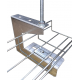 200mm Overhead G Hanger Basket Support