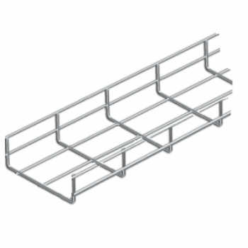 100mm Cable Basket Tray x 3 Metre (HDG)