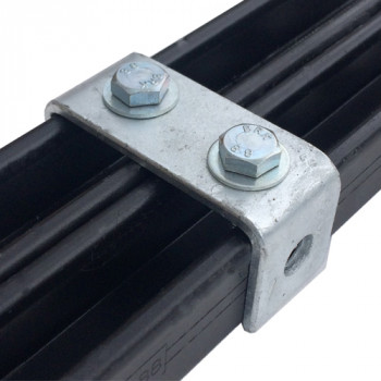 Double Channel C Bracket - 96mm