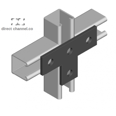 Unistrut Type l Flat Plate Brackets