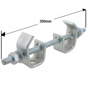 300mm Heavy Duty Beam Clamp Assembly