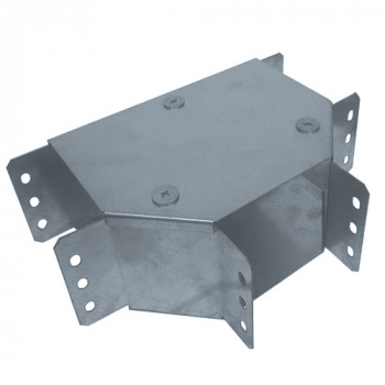 50mm Premier Cable Trunking Top Lid Tee Bracket