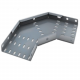 90 Degree Bend for 300mm Heavy Duty Cable Tray (HDG)
