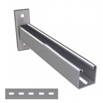 750mm - Slotted Cantilever Arms