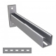 900mm Slotted Cantilever Arms - A4 Stainless