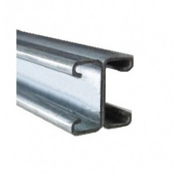 21mm Plain Back to Back Channel - Hot Dipped Galvanised - 3 Metre