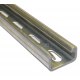 21mm Slotted Channel - A4 Stainless x 2 Metre