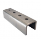 External Coupler for 41x41mm Channel - A4 Stainless