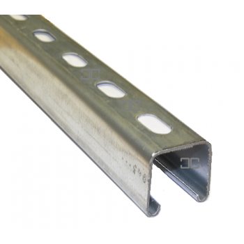 41mm Slotted Channel - 4 Metre