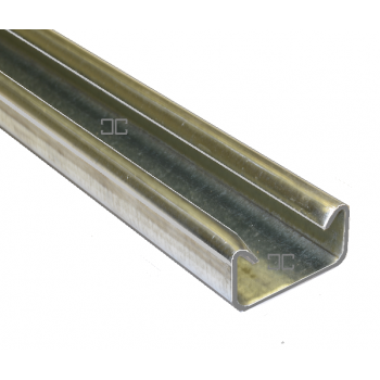 21mm Light Plain Channel - 2 Metre