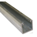 41mm Plain Channel Hot Dipped Galvanised - 5 Metre