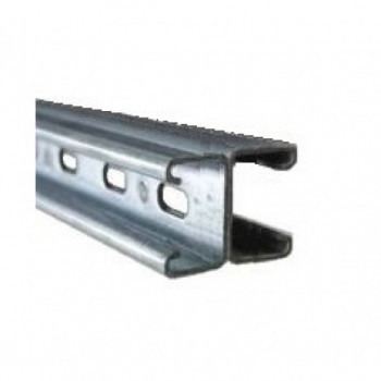 41mm Slotted Channel Back to Back - Hot Dipped Galvanised