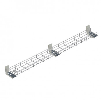 2300mm Under Desk Cable Tidy Tray