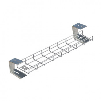 800mm Under Desk Basket Tray