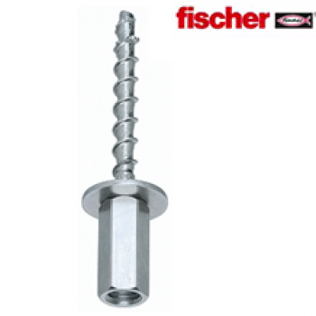 M8/M10 Fischer Dual Thread 6x35mm Female Concrete Screw