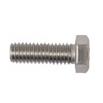 M8x25mm Hex Set Screws  x 10 - (A4 Stainless)