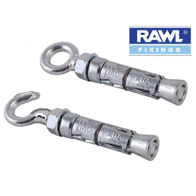 Rawl Hook Bolts & Eye Bolts