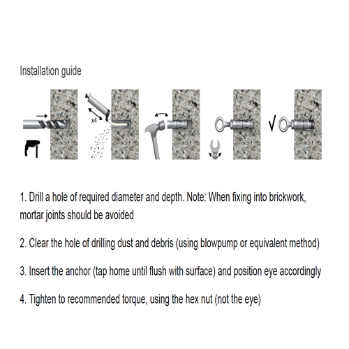 M12 Rawl Shield Hook Bolt -