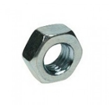 M12 Hex Head Nuts - (BZP) x100