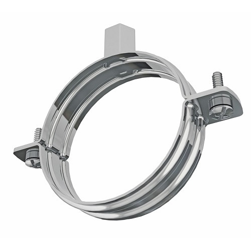 Rubber Lined 93-100mm Premier Pipe Clamps