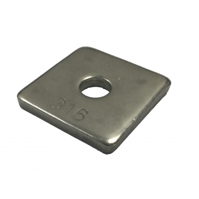 Square Plate Washers (A4)