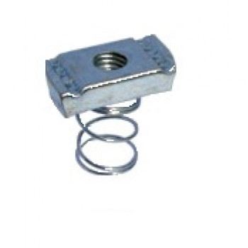 M10 Short Spring Channel Nuts - A4 Stainless