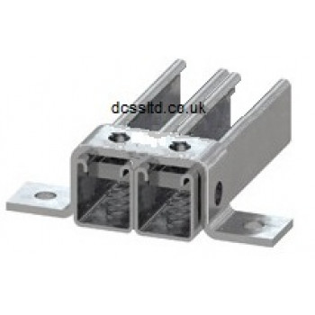 82mm Top Hat Wide U Bracket - A4 Stainless