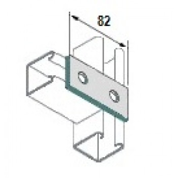2 Hole Flat Plate - A4 Stainless