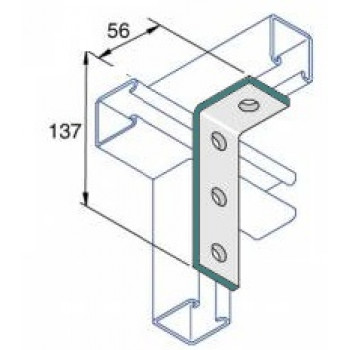 90 Degree Right Angle 3x1 - A4 Stainless