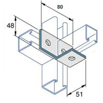 Right Hand Angle Bracket