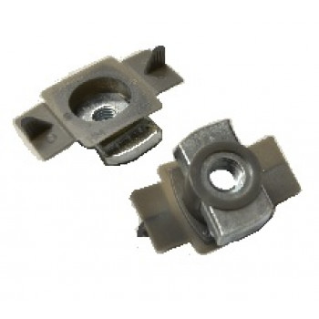 M8 EasyFit Plain Channel Nut with Plastic Guide x 100