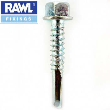 4.8 x 16mm Self Drilling Tech Screws x 100